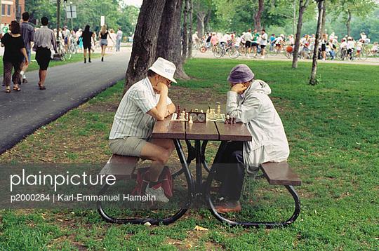Schach auf Zeit - p2000284 von Karl-Emmanuel Hamelin