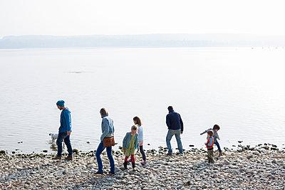 Ufer Spaziergang - p1308m1332364 von felice douglas