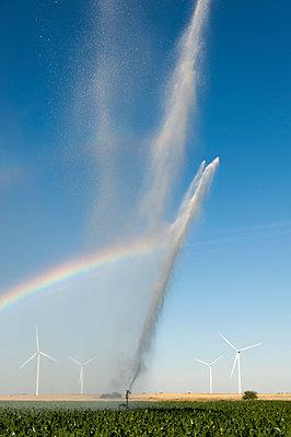 Irrigation Equipment - p1079m1074165 by Ulrich Mertens
