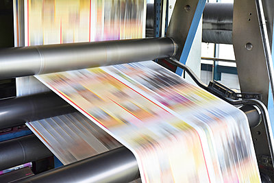 Printing machine in a printing shop - p300m1069071f by lyzs