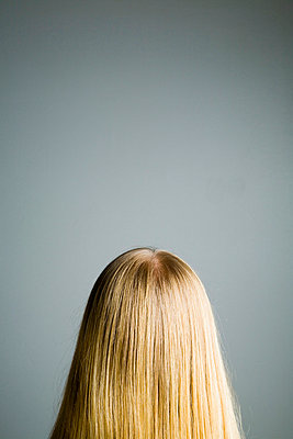 Blond, long hair - p4262870f by Tuomas Marttila