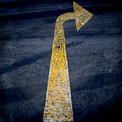 Road marking - p1365m1355164 by John Heseltine