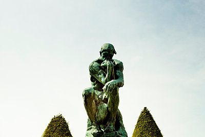 The thinker - p445m1128620 by Marie Docher