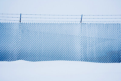 Protective fence - p4423440f by Design Pics