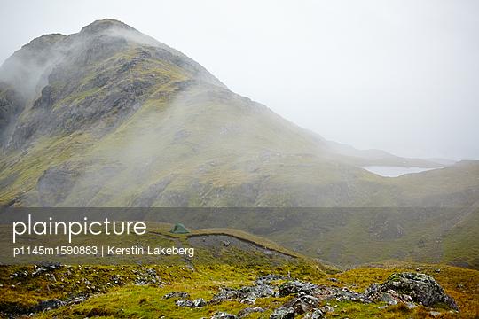 Zelten in den Highlands auf Skye - p1145m1590883 von Kerstin Lakeberg