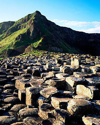 Giant's Causeway, Co. Antrim, Ireland - p4428780 by The Irish Image Collection