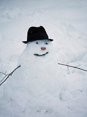 A snowman Sweden - p31222853 by Matilda Lindeblad