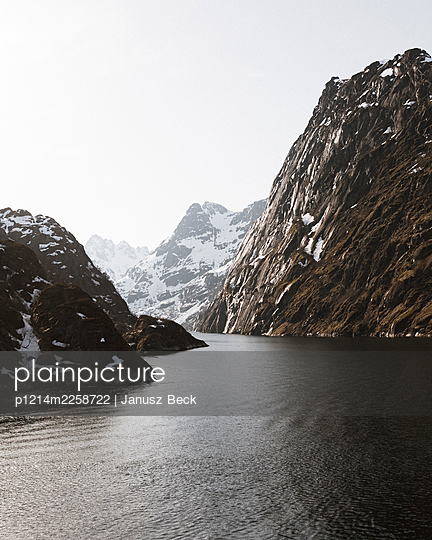 Fjord - p1214m2258722 by Janusz Beck