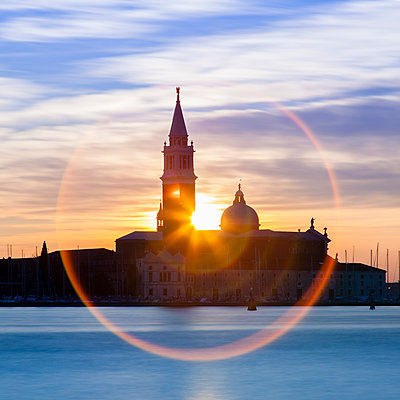 Italy, San Giorgio Maggiore - p1256m2099748 by Sandra Jordan