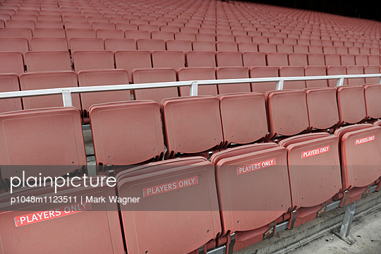 """""""Players only"""" seats - p1048m1123511 by Mark Wagner"""