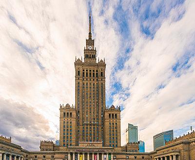 Kultur- und Wissenschaftspalast Warschau - p1332m1528562 von Tamboly