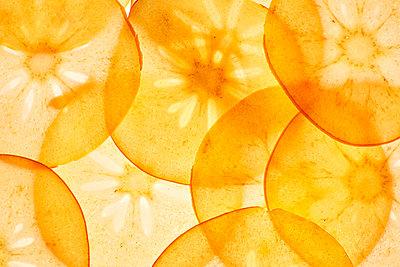 Thin Kaki slices - p300m2070242 by Kai Schwabe