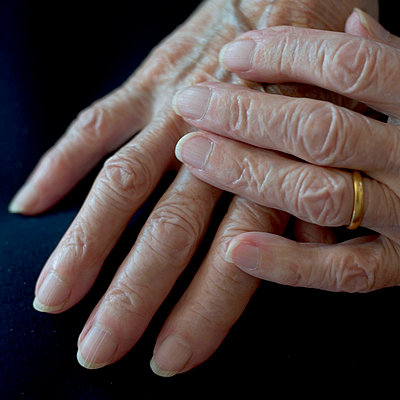 Hands of a senior woman - p8960190 by Sake Elzinga