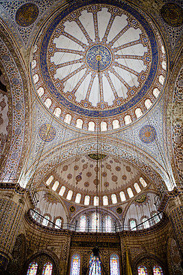 Dome of a mosque - p798m894275 by Florian Löbermann