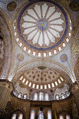 Kuppel einer Moschee - p798m894275 von Florian Loebermann