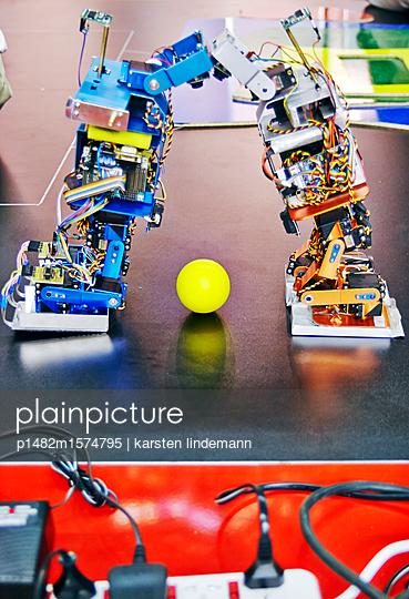 FIRA Robot World Cup - p1482m1574795 von karsten lindemann