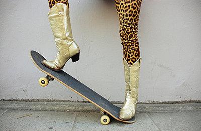 Leopardenlady - p0450528 von Jasmin Sander
