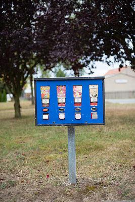 Kaugummiautomat - p1509m2030920 von Romy Rolletschke