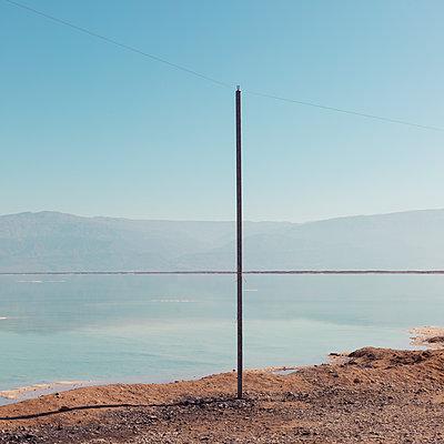 Dead Sea, Zohar Beach, En Bokek, Israel - p1542m2142285 by Roger Grasas