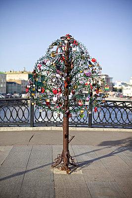 Decorated with padlocks - p1980259 by David Breun