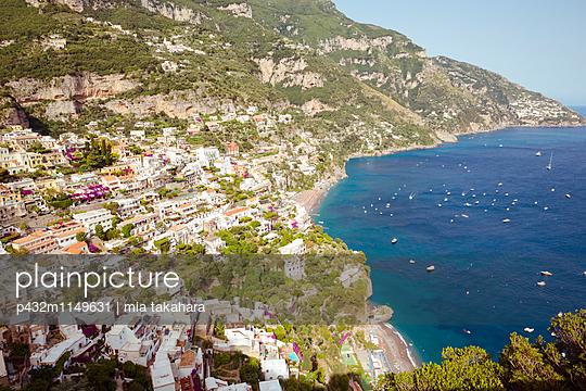 Schöne Aussicht in Positano - p432m1149631 von mia takahara