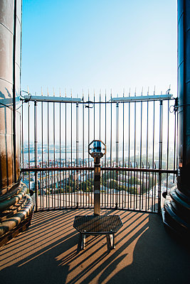 Aussichtsplattform im Turm des Michels, Hamburg I - p1493m1584675 von Alexander Mertsch