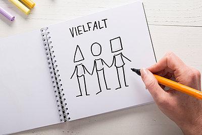 Illustration Vielfalt - p299m1333065 von Silke Heyer