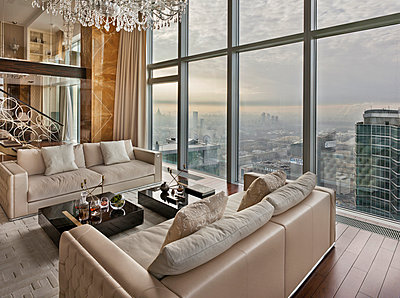 Luxury Penthouse in Moscow - p390m973197 von Frank Herfort