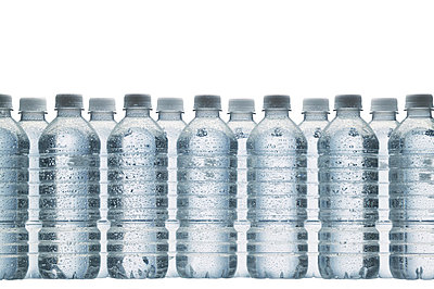 Bottled water - p4422156f by Design Pics