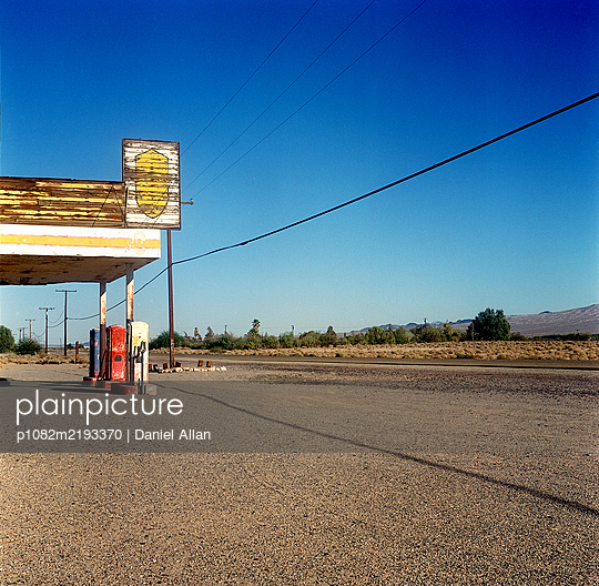 Abandoned Gas Station  - p1082m2193370 by Daniel Allan