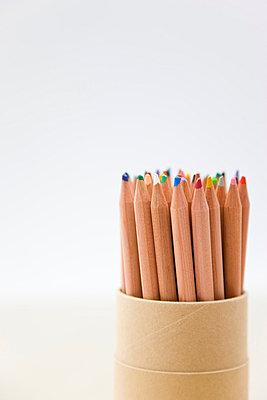 Colouring pencils - p6690217 by David Harrigan