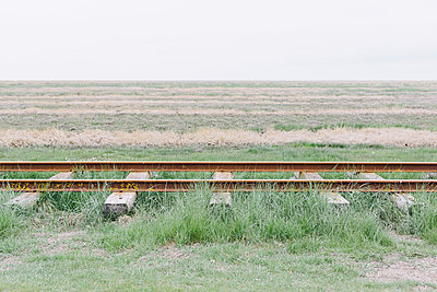 Gleise im Gras - p1085m876974 von David Carreno Hansen