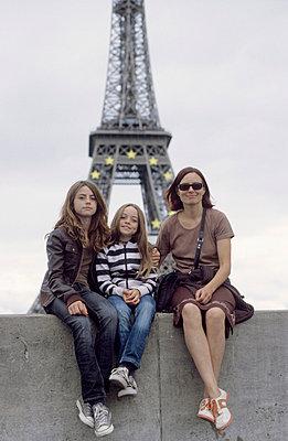 Familie in Paris - p0460719 von Hexx