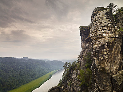 Elbe Sandstone Mountains - p9180088 by Dirk Fellenberg