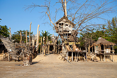 Hippie Bar, Koh Phayam - p1095m1005260 von nika