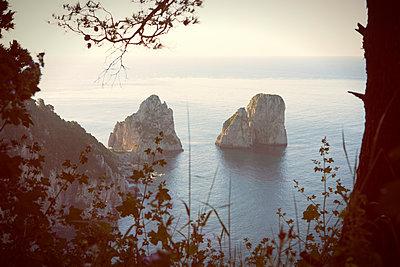 The rocks 'Faraglioni' at Capri - p294m944504 by Paolo