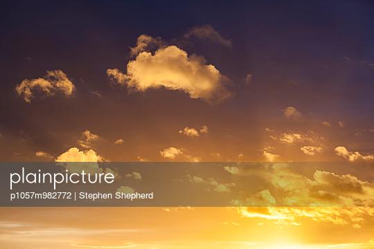 Sonnenuntergang - p1057m982772 von Stephen Shepherd