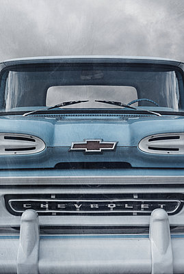 1950s Chevrolet Pick Up Truck - p1280m2207577 by Dave Wall