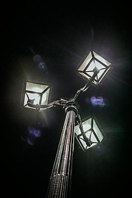 Old-fashioned street lamp - p445m2053342 by Marie Docher
