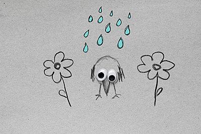 Im Regen stehen     - p450m1138762 von Hanka Steidle