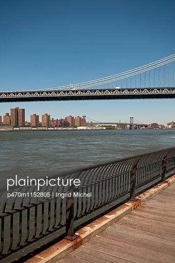 Brücken in New York - p470m1152805 von Ingrid Michel