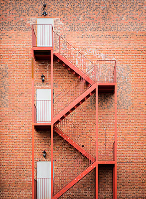 Fire Escape - p1280m2008541 by Dave Wall