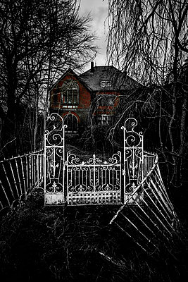 Haunted house - p248m1116338 by BY