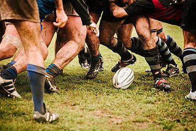 Rugby - p1085m855355 von David Carreno Hansen