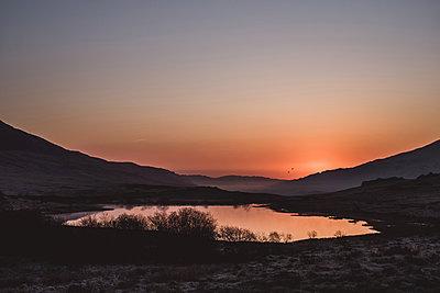 Farbenfroher Sonnenaufgang - p1326m2161133 von kemai
