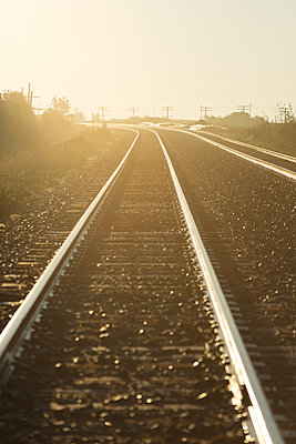 Train Tracks - p1335m1193713 by Daniel Cullen