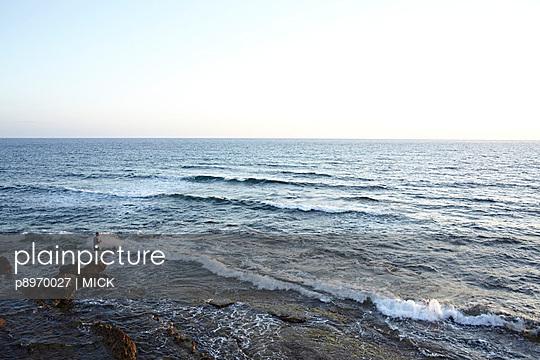 Angler am Meer - p8970027 von MICK