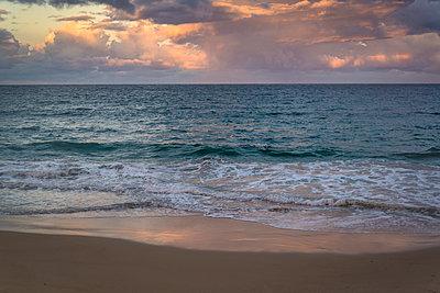 Breaking waves on the Pacific coast - p1170m1444733 by Bjanka Kadic