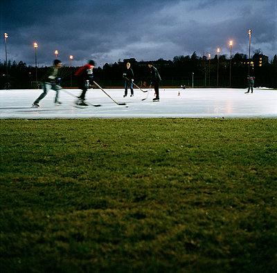 Icehockey is popular in Finland - p1269m1120318 by Sari Poijärvi