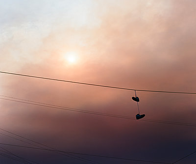 Sunset Sneakers - p1431m2247663 by Daniel R. Lopez